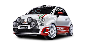 Abarth 500 Rally R3T 180 HP